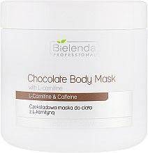 Духи, Парфюмерия, косметика Шоколадная маска для тела с L-карнитином - Bielenda Professional Chocolate Body Mask