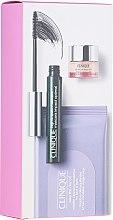 Духи, Парфюмерия, косметика Набор - Clinique High Impact Favourites (mascara/7ml + mic/towels/10pcs + eye/cr/5ml)