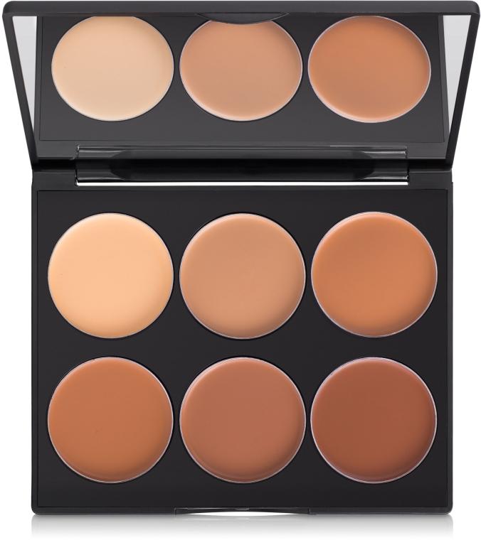 Набор для контуринга лица - Sleek MakeUP Cream Contour Kit