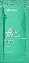 Духи, Парфюмерия, косметика Пузырьковая маска-пенка для чувствительной кожи - VT Cosmetics Cica Bubble Sparkling Booster