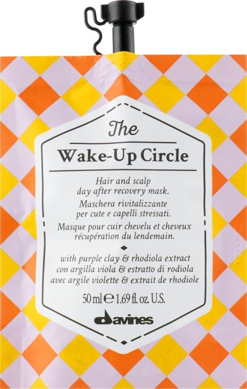 Антистрессовая и ребалансирующая маска для волос и кожи головы - Davines The Circle Chronicles The Wake-Up Circle
