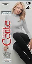 Духи, Парфюмерия, косметика Колготки ажурные «Cashmere», 250 Den, grafit - Conte