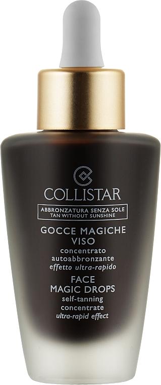 Концентрат для автозагара кожи лица - Collistar Face Magic Drops