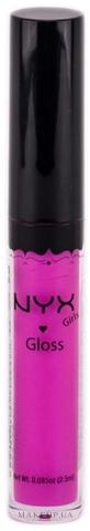 Блеск для губ - NYX Professional Makeup Round Lipgloss — фото 08 - Doll Pink