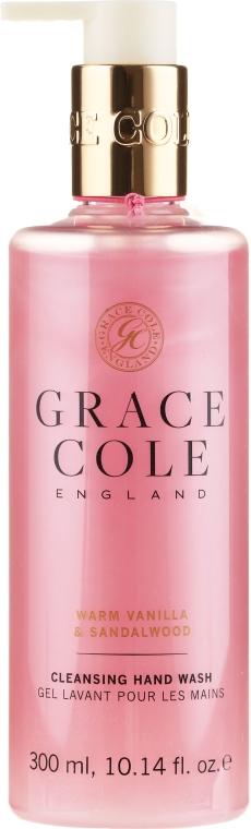 """Мыло для рук """"Ваниль и сандаловое дерево"""" - Grace Cole Warm Vanilla & Sandalwood Hand Wash"""
