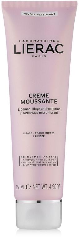 Двойной пенистый крем для очищения лица - Lierac Creme Moussante Double Nettoyant