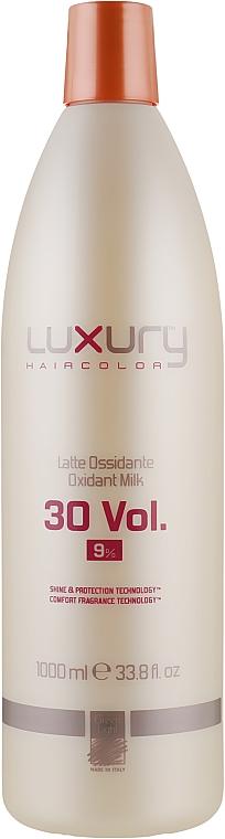Молочний Оксидант - Green Light Luxury Haircolor Oxidant Milk 9% 30 vol. — фото N1