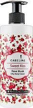 Духи, Парфюмерия, косметика Шелковый крем для тела «Мускус и роза» - Careline Sweet Kiss Rose Musk Silky Body Cream