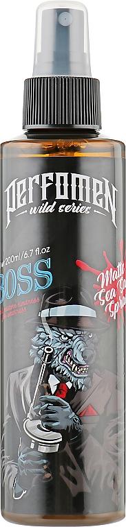 Матовый солевой спрей для волос - Perfomen Wild Series Boss Matte Sea Salt Spray