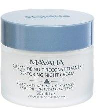 Духи, Парфюмерия, косметика Восстанавливающий ночной крем - Mavalia Restoring Night Cream