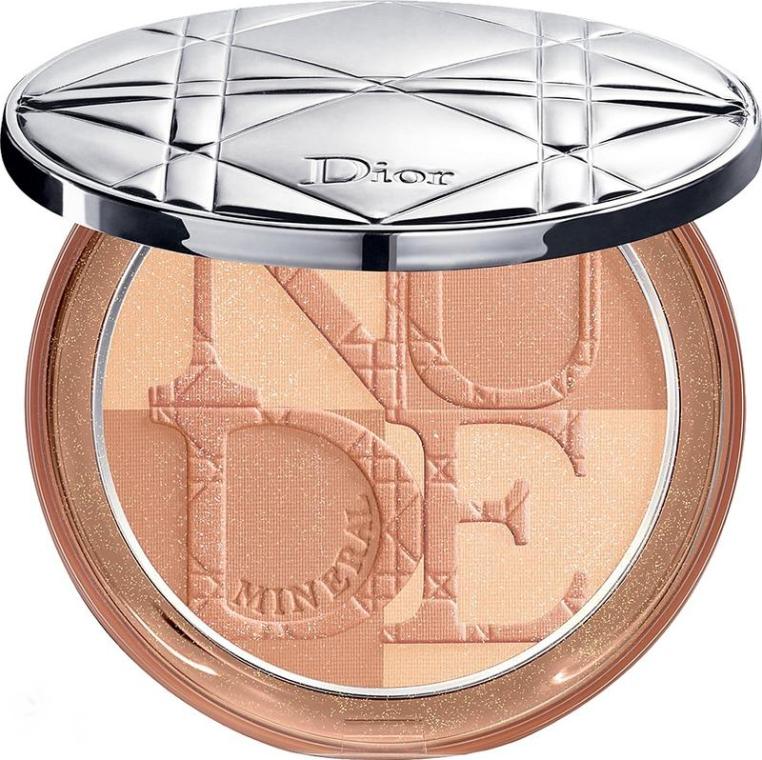 Минеральная компактная пудра - Dior Diorskin Mineral Nude Bronze Powder