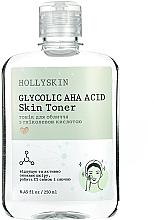 Духи, Парфюмерия, косметика Тоник для лица с гликолевой кислотой - Hollyskin Glycolic AHA Acid Skin Toner