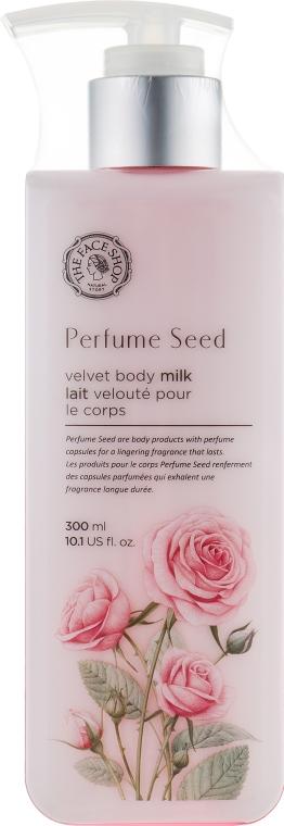 Парфюмированное молочко для тела - The Face Shop Perfume Seed Velvet Body Milk