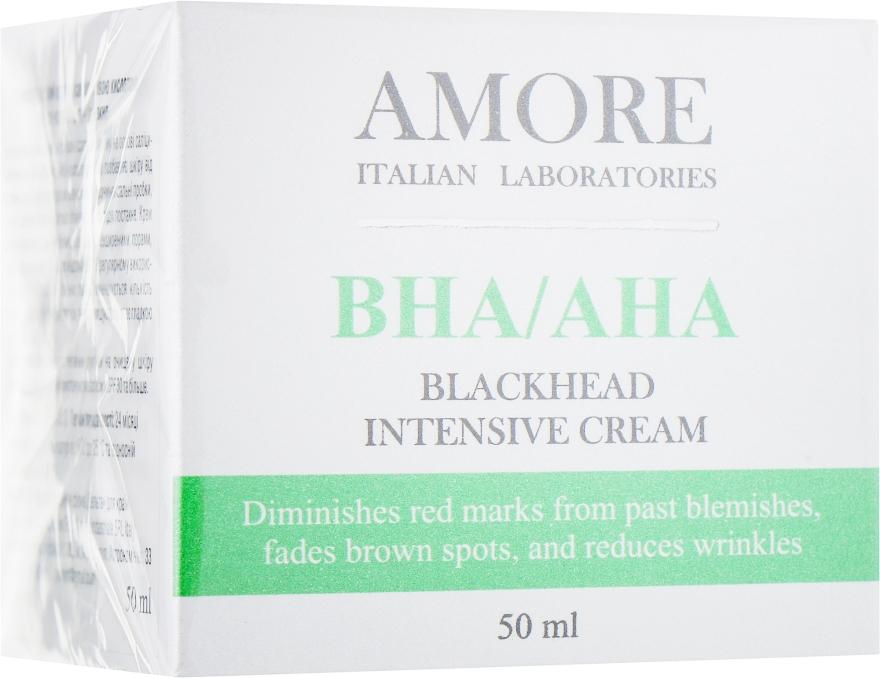 Концентрированный крем с салициловой кислотой против точек и акне - Amore Blackhead Intensive Cream