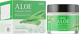 Духи, Парфюмерия, косметика Ампульный крем для лица с алоэ - Ekel Aloe Ampule Cream