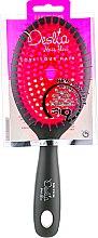 Духи, Парфюмерия, косметика Расческа массажная для сушки феном, овальная, 27 см, розовая - Beter Deslia Hair Flow Maxi