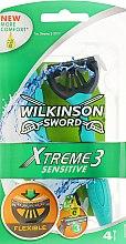 Духи, Парфюмерия, косметика Одноразовый станок для бритья - Wilkinson Sword Xtreme 3 Sensitive