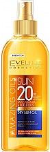 Духи, Парфюмерия, косметика Солнцезащитное сухое масло для тела SPF20 - Eveline Cosmetics Amazing Oils Dry Sun Oil SPF20