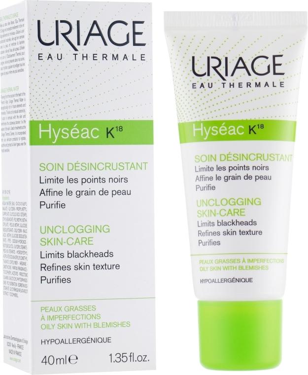 Легкая кераторегулирующая эмульсия - Uriage Hyseac K18