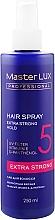 Духи, Парфюмерия, косметика Лак для волос экстрасильной фиксации - Master LUX Professional Extra Strong Hair Spray