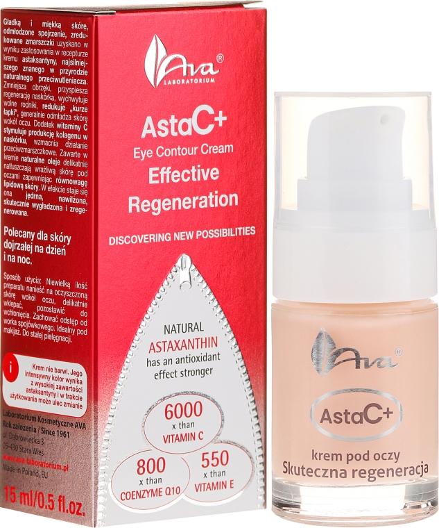 Крем для век - Ava Laboratorium Asta C+ Effective Regeneration