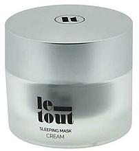 Духи, Парфюмерия, косметика Ночная крем-маска для лица - Le Tout Sleeping Mask Cream Hydrating Treatment