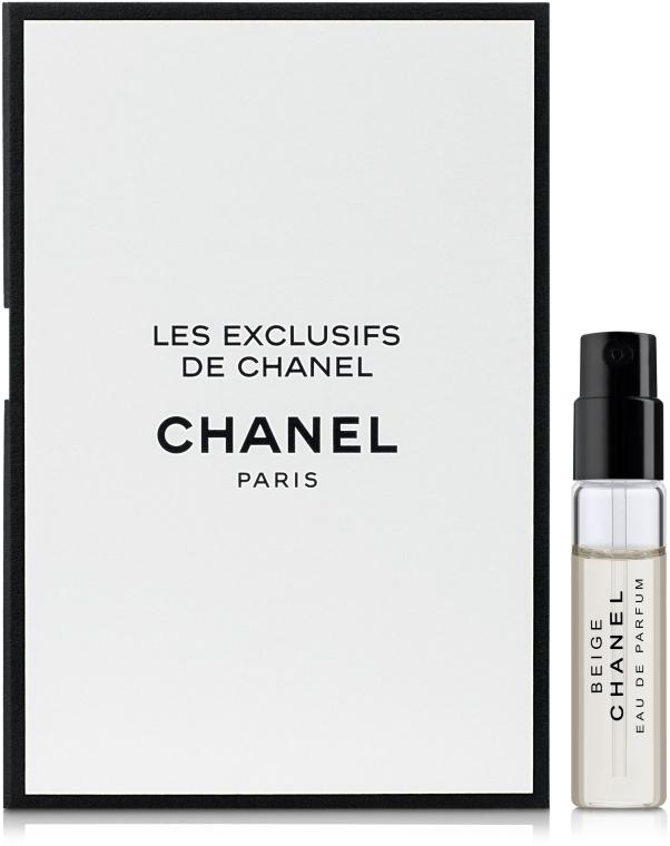 Chanel Les Exclusifs de Chanel Beige - Туалетная вода (пробник)
