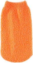 Духи, Парфюмерия, косметика Рукавичка массажная синтетическая, оранжевая - Balmy Naturel