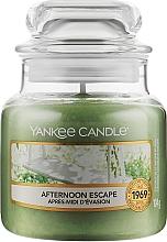 Духи, Парфюмерия, косметика Ароматическая свеча в банке - Yankee Candle Afternoon Escape