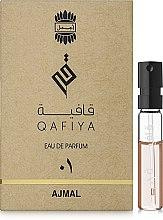 Духи, Парфюмерия, косметика Ajmal Qafiya 1 - Парфюмированная вода (пробник)
