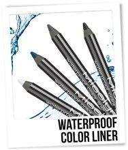 Водостойкий карандаш для глаз - Misslyn Waterproof Color Liner — фото N2
