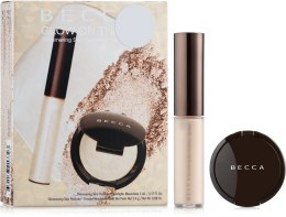Духи, Парфюмерия, косметика Набор - Becca Shimmering Skin Perfector Moonstone Glow On The Go (highliter/5g + highliter/2,4g)