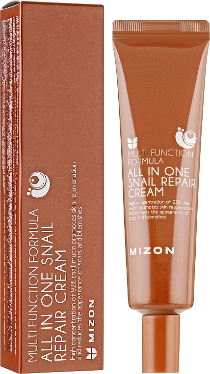Улиточный крем - Mizon All in One Snail Repair Cream (мини)