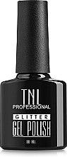 Духи, Парфюмерия, косметика Гель-лак для ногтей - TNL Professional Gel Polish Glitter Effect