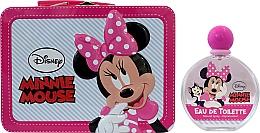 Духи, Парфюмерия, косметика Air-Val International Disney Minnie Mouse - Набор (edt/100ml + bag)