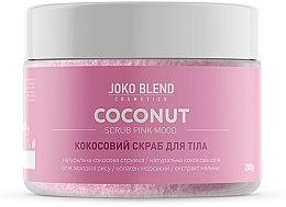 Духи, Парфюмерия, косметика Кокосовый скраб для тела - Joko Blend Coconut Scrub Pink Mood