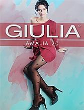 "Парфумерія, косметика Колготки для жінок ""Amalia Model 11"" 20 Den, nero - Giulia"