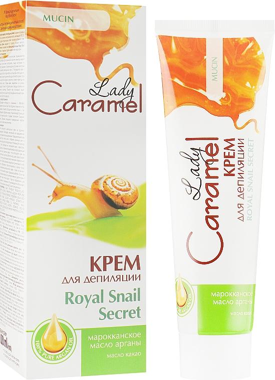 Крем для депиляции - Caramel Lady Royal Snail Secret