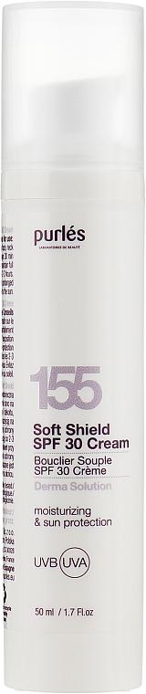Увлажняющий солнцезащитный крем - Purles Derma Solution 155 Soft Shield Cream Spf30