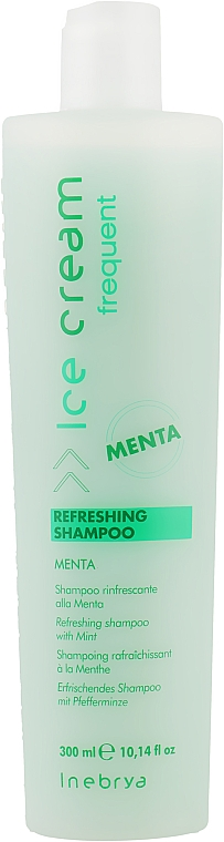 Освежающий шампунь с мятой - Inebrya Frequent Ice Cream Refreshing Shampoo