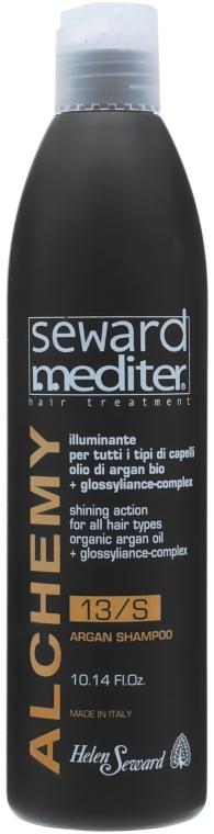 Аргановый шампунь для всех типов волос - Helen Seward Alchemy Argan Shampoo