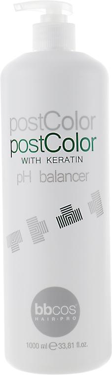 Бальзам-крем после окрашивания - BBcos Keratin Color Post Color Balsam