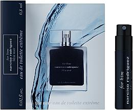 Духи, Парфюмерия, косметика Narciso Rodriguez For Him Bleu Noir Extreme - Туалетная вода (пробник)