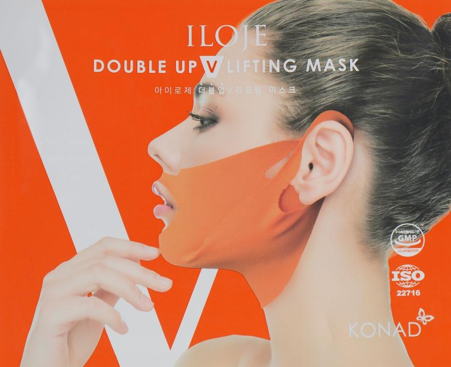 Корректирующая лифтинг-маска от второго подбородка - Konad Iloje Double Up V Lifting Mask