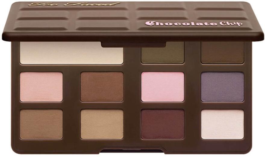 Палетка теней для век - Too Faced Matte Chocolate Chip Eyeshadow Collection