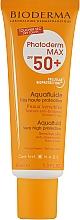 Духи, Парфюмерия, косметика Солнцезащитный флюид для чувствительной кожи - Bioderma Photoderm Max SPF50+ Aquafluid