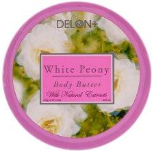 "Духи, Парфюмерия, косметика Масло для тела ""Белый пион"" - Delon Laboratories Body Butter White Peony"