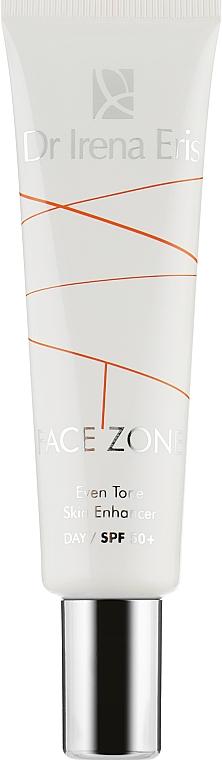 Дневной крем для лица - Dr. Irena Eris Face Zone Even Tone Skin Enhancer SPF50