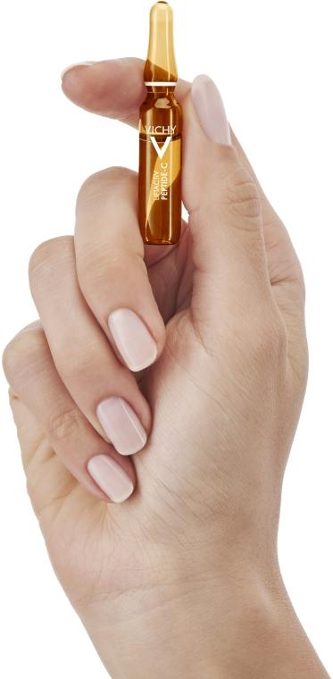 Антивіковий концентрат в ампулах для догляду за шкірою обличчя - Vichy LiftActiv Specialist Peptide-C — фото N9