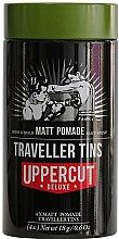 Духи, Парфюмерия, косметика Дорожный набор для укладки волос - Uppercut Deluxe Matt Pomade Traveller Tins (4xpomade/18g)